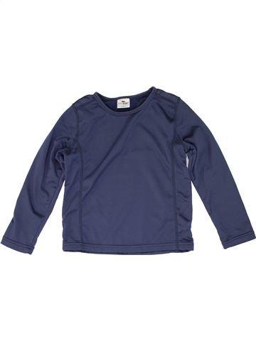 Polo de manga larga niño CRANE azul 6 años invierno #1274140_1