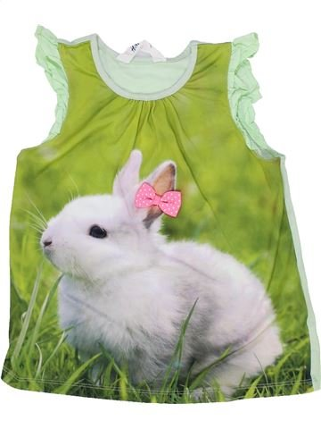 Camiseta sin mangas niña H&M verde 8 años verano #1274144_1