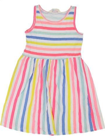 Vestido niña H&M blanco 6 años verano #1274287_1