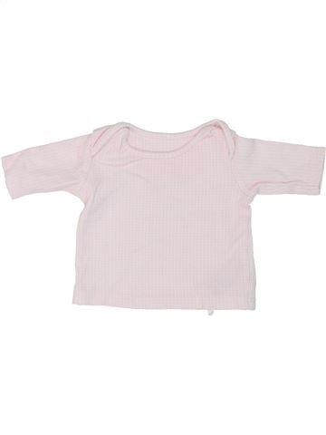 T-shirt manches longues fille MARKS & SPENCER blanc prématuré hiver #1274307_1