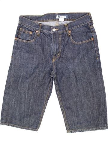 Pantalón corto niño H&M azul 14 años verano #1274407_1