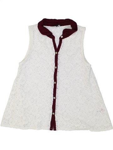 Blusa de manga corta niña CANDY COUTURE blanco 13 años verano #1274416_1