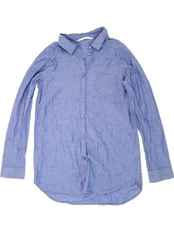 Blusa de manga larga niña H&M azul 12 años invierno #1274454_1