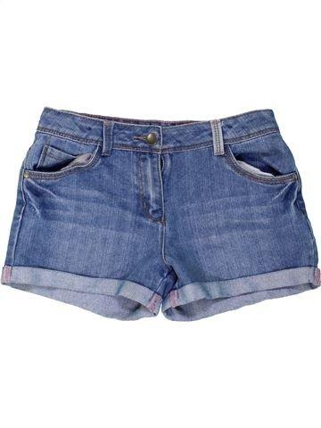 Short-Bermudas niña GEORGE azul 10 años verano #1274476_1