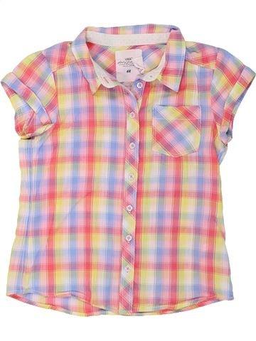 Blusa de manga corta niña H&M rosa 9 años verano #1274640_1