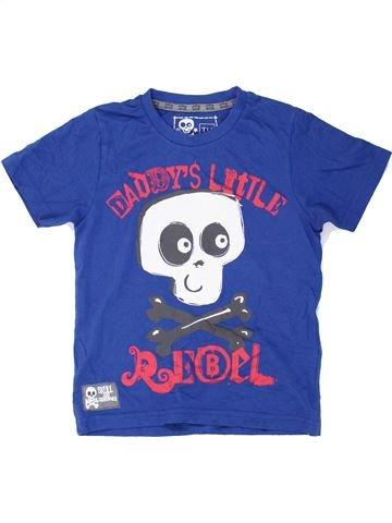 T-shirt manches courtes garçon TU bleu 4 ans été #1274874_1