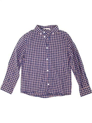 Camisa de manga larga niño H&M violeta 8 años invierno #1274987_1