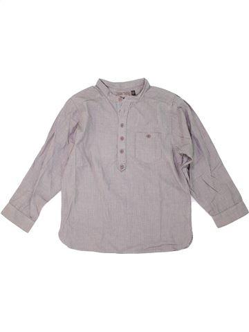 Chemise manches longues garçon YCC-214 gris 6 ans hiver #1275050_1