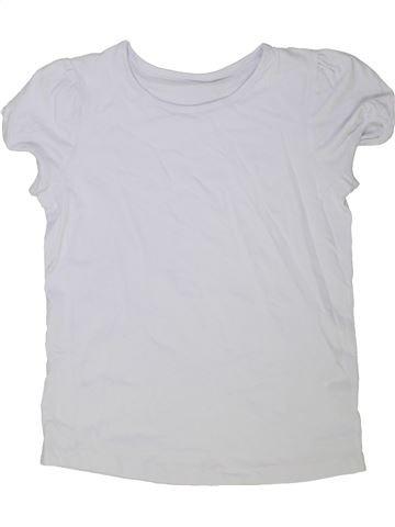 T-shirt manches courtes fille TU blanc 13 ans été #1275387_1