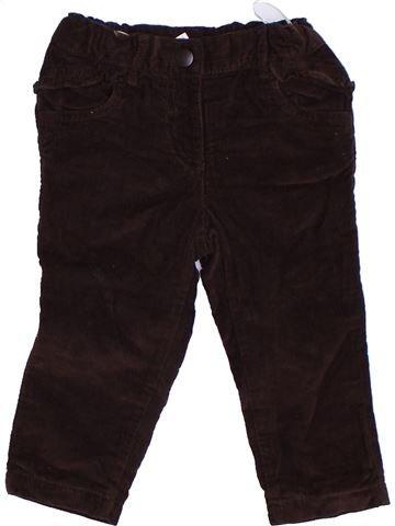 Pantalón niña C&A marrón 2 años invierno #1275585_1