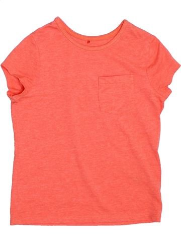T-shirt manches courtes fille GEORGE rose 8 ans été #1275624_1