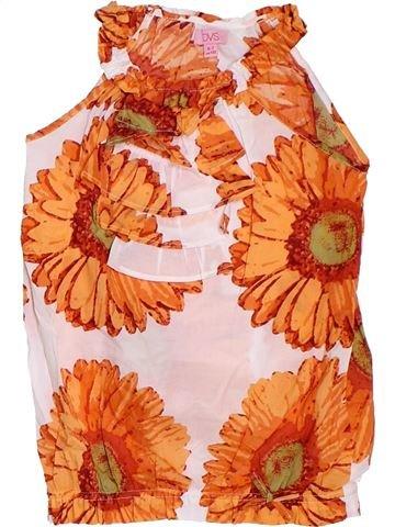 Blouse manches courtes fille OVS orange 7 ans été #1275723_1