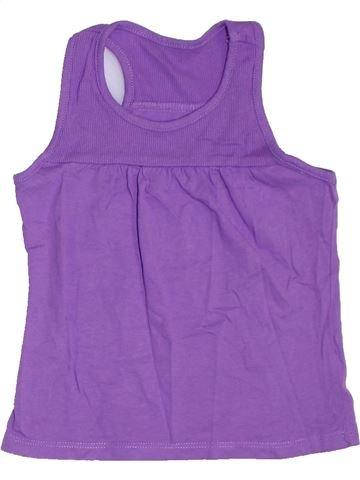 T-shirt sans manches fille MOTHERCARE violet 4 ans été #1275814_1
