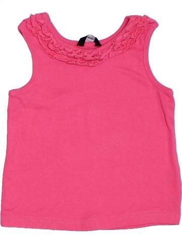T-shirt sans manches fille GEORGE rose 3 ans été #1275974_1
