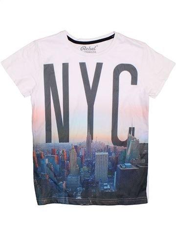 T-shirt manches courtes garçon PRIMARK blanc 11 ans été #1276002_1