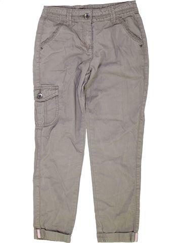 Pantalón niña GEORGE gris 9 años verano #1276199_1
