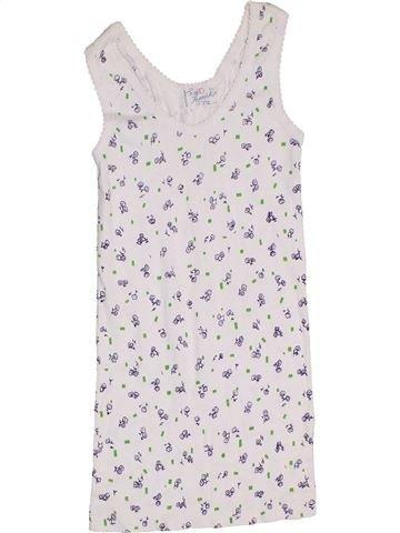 Camiseta sin mangas niña FRIENDSHIP blanco 10 años verano #1276246_1