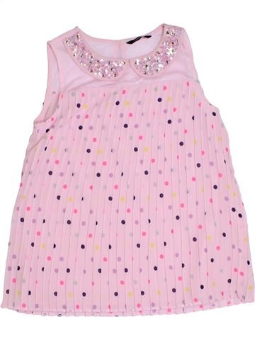 Camiseta sin mangas niña GEORGE rosa 11 años verano #1276265_1
