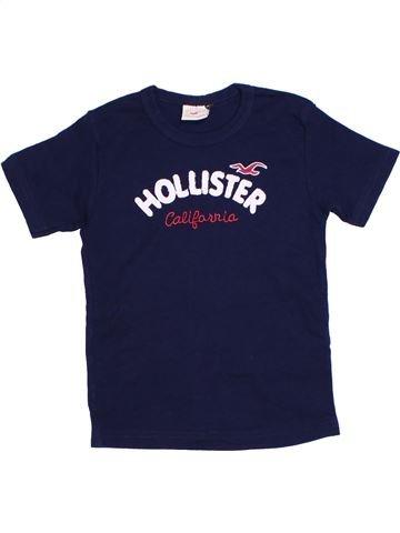Camiseta de manga corta niña HOLLISTER violeta 8 años verano #1276333_1