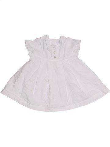 Robe fille CLAYEUX blanc 3 mois été #1276484_1