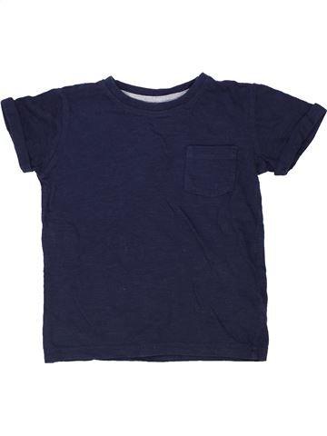 T-shirt manches courtes garçon DUNNES STORES bleu 4 ans été #1276841_1
