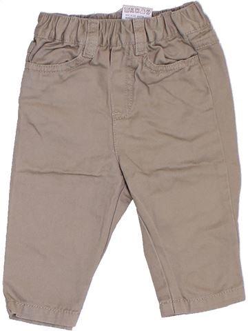Pantalon garçon CYRILLUS beige 6 mois été #1276874_1