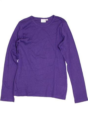 T-shirt manches longues garçon ALIVE violet 12 ans hiver #1276921_1