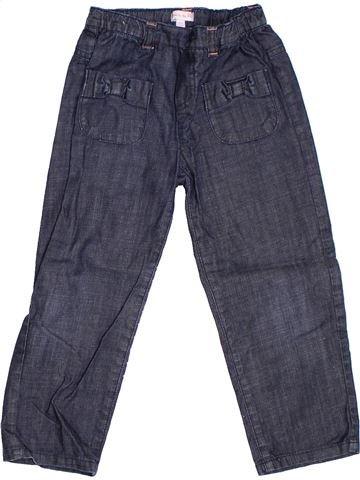 Pantalon fille GRAIN DE BLÉ bleu 3 ans hiver #1278262_1