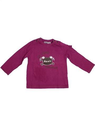 T-shirt manches longues garçon TAPE À L'OEIL violet 2 ans hiver #1278384_1