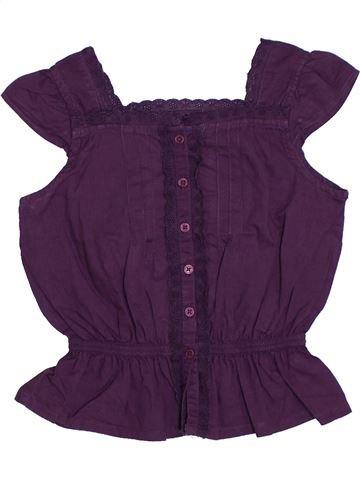Blusa de manga corta niña CFK azul 5 años verano #1278387_1