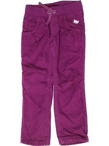 Pantalon fille DOPODOPO violet 7 ans hiver #1279015_1