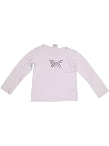T-shirt manches longues fille NEXT blanc 5 ans hiver #1280192_1