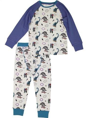 Pijama de 2 piezas niño MATALAN azul 4 años invierno #1280756_1