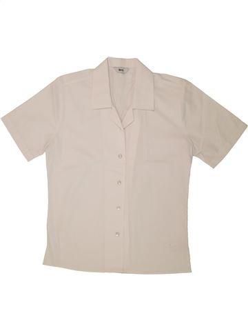Blouse manches courtes fille BHS blanc 11 ans été #1280801_1