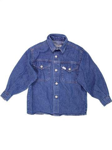 Chemise manches longues garçon IANA bleu 4 ans hiver #1281380_1