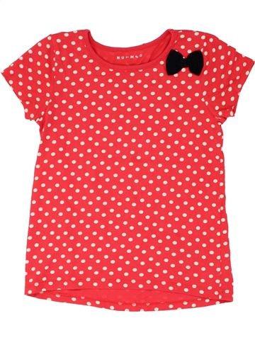Camiseta de manga corta niña NUTMEG naranja 10 años verano #1282708_1