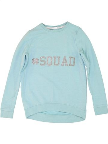 Sweat fille F&F gris 13 ans hiver #1282749_1