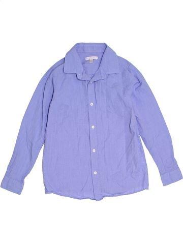 Chemise manches longues garçon DEBENHAMS bleu 9 ans hiver #1283257_1