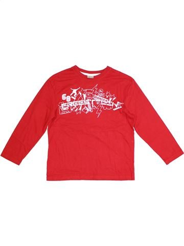 T-shirt manches longues garçon CHEROKEE rouge 10 ans hiver #1283560_1