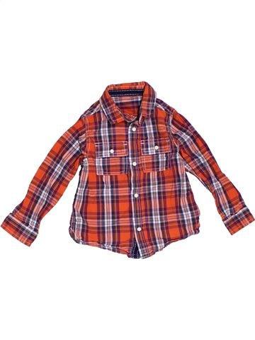 Camisa de manga larga niño MOTHERCARE violeta 2 años invierno #1283715_1