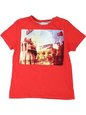 T-shirt manches courtes garçon BEN SHERMAN orange 11 ans été #1283750_1