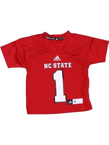 Camiseta deportivas niño ADIDAS rojo 4 años verano #1283825_1