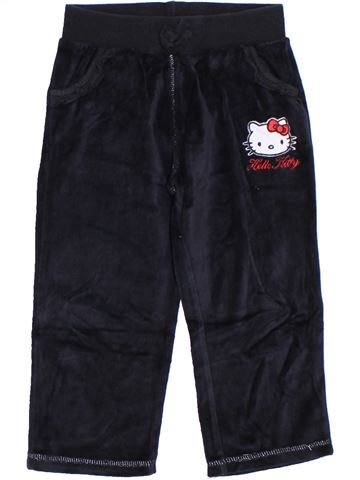 Pantalon fille HELLO KITTY noir 3 ans hiver #1283905_1