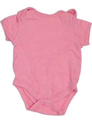 Camiseta de manga corta niña PEP&CO rosa 0 meses verano #1283929_1