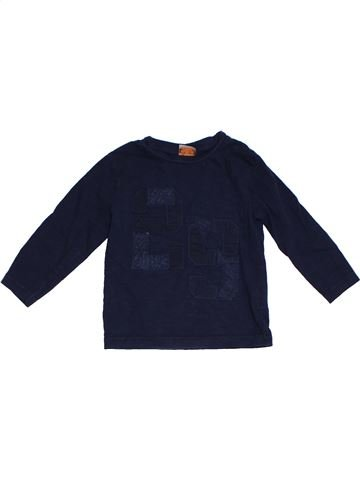 T-shirt manches longues garçon TAPE À L'OEIL noir 2 ans hiver #1284958_1