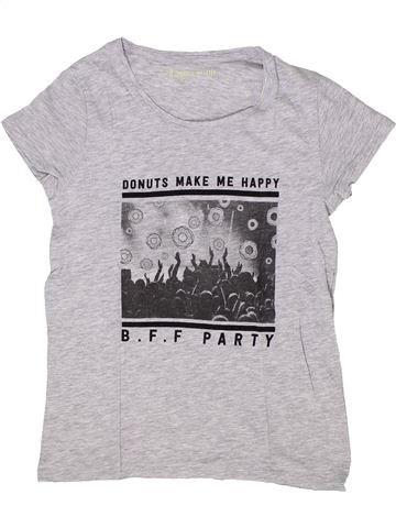 Camiseta de manga corta niña GEMO blanco 12 años verano #1284982_1