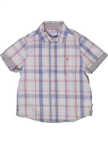 Camisa de manga corta niño OKAIDI gris 3 años verano #1285013_1