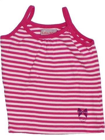 Camiseta sin mangas niña LISA ROSE rosa 3 años verano #1285309_1
