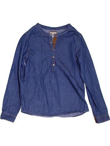 Blouse manches longues fille LISA ROSE bleu 8 ans hiver #1285381_1