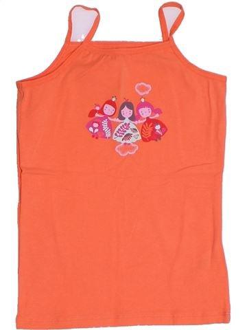 Camiseta sin mangas niña VERTBAUDET rosa 8 años verano #1285678_1